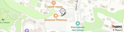 Кардио на карте Кисловодска