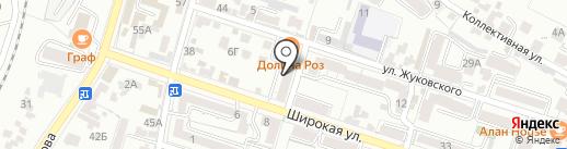 Центр занятости населения г. Кисловодска на карте Кисловодска
