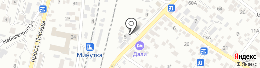 ЗигЗаг на карте Кисловодска