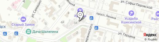 Мир головных уборов на карте Кисловодска
