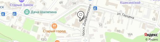 Благодать на карте Кисловодска