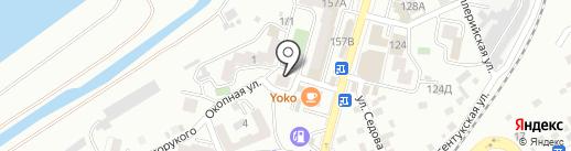 Аптека на карте Кисловодска