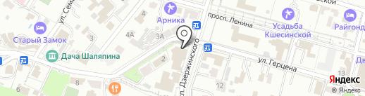 Банкомат, Банк ВТБ 24, ПАО на карте Кисловодска