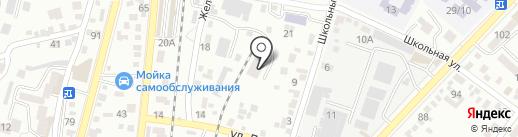 АКВУС-КМВ на карте Кисловодска