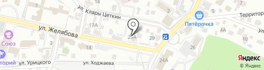 Кисловодский Экспресс на карте Кисловодска