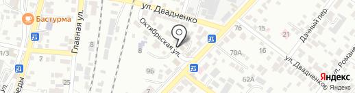 СВ-АВТО на карте Кисловодска