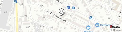 У Наташи на карте Кисловодска