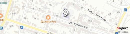 Английский клуб на карте Кисловодска