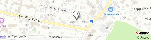 Государственный региональный центр стандартизации на карте Кисловодска