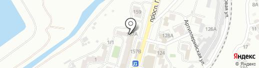 Маргарита на карте Кисловодска