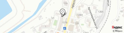 Магазин детских товаров на карте Кисловодска