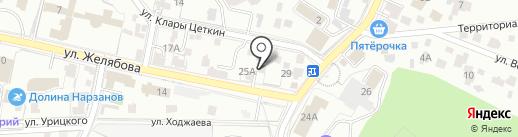 Государственный региональный центр стандартизации, метрологии и испытаний на карте Кисловодска