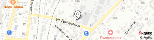 Сладкоежка на карте Кисловодска