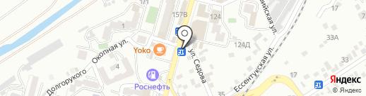 Мечта на карте Кисловодска