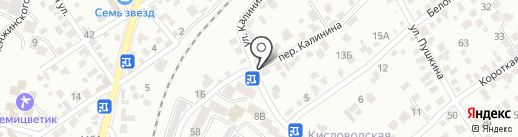 Пятачок на карте Кисловодска