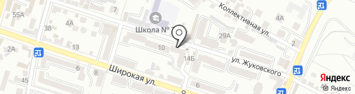Парикмахерская №1 на карте Кисловодска