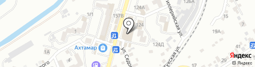 У Сухумского на карте Кисловодска
