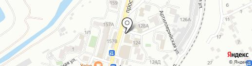 Сельпо на карте Кисловодска