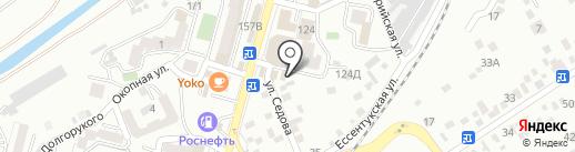 АлеКс на карте Кисловодска
