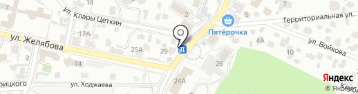 Цветы на карте Кисловодска