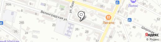 Детский Монтессори клуб Жирафа на карте Кисловодска