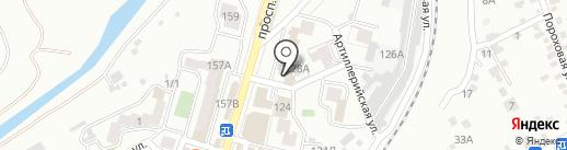 КМВтелеком на карте Кисловодска