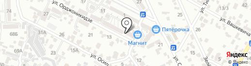 Магнит на карте Кисловодска