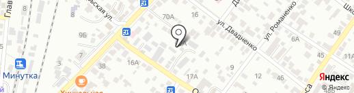 Евростандарт на карте Кисловодска