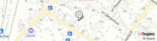 Мастерская по ремонту мягкой мебели на карте Кисловодска