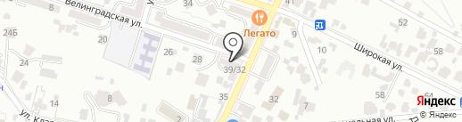 Lucky Star на карте Кисловодска