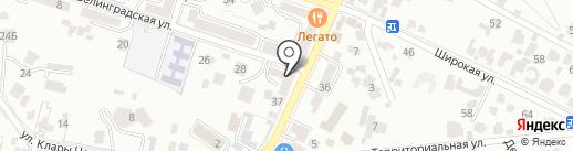 ОПТ-реал на карте Кисловодска