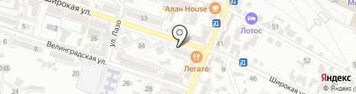 Опт-Торг на карте Кисловодска