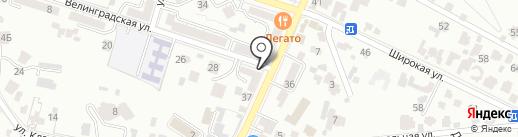 АКБ Связь-банк, ПАО на карте Кисловодска
