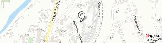 ПРИНТ-КМВ на карте Кисловодска