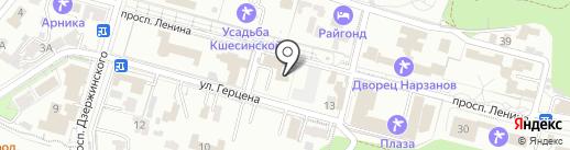 Адвокатская контора №2 на карте Кисловодска