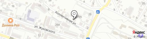 Весна на карте Кисловодска
