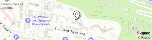 Смена на карте Кисловодска