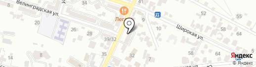 Кисловодского Городского Бюро Экскурсий на карте Кисловодска