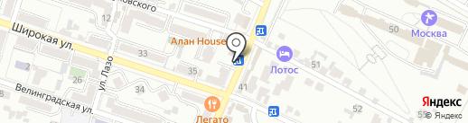 ГорЗдрав на карте Кисловодска