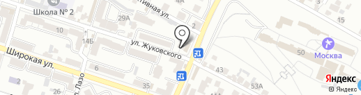 Комиссионный магазин на карте Кисловодска