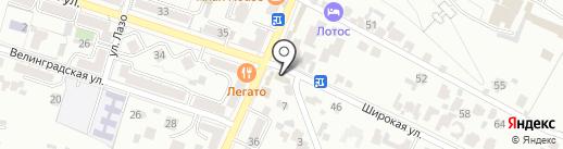 Гиро на карте Кисловодска