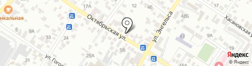 Автомагазин на карте Кисловодска