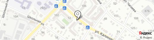 Добрый на карте Кисловодска