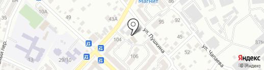 Кавминводский центр профессиональной подготовки и повышения квалификации кадров Федерального дорожного агентства на карте Кисловодска