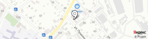 СТАЛКЕР на карте Кисловодска