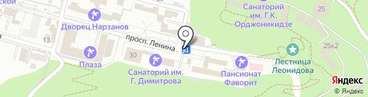 Кисловодское Городское Бюро Экскурсий на карте Кисловодска