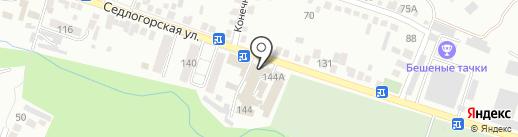 Стикс на карте Кисловодска