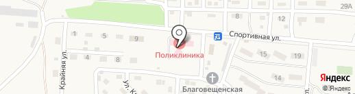 Яснополянская участковая больница на карте Ясной Поляны