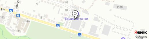 Магазин автозапчастей для ГАЗ на карте Кисловодска