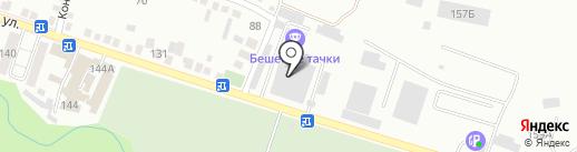 Контроль-Авто на карте Кисловодска